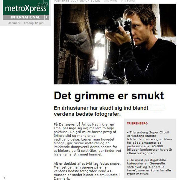 Metroexpress foto interview