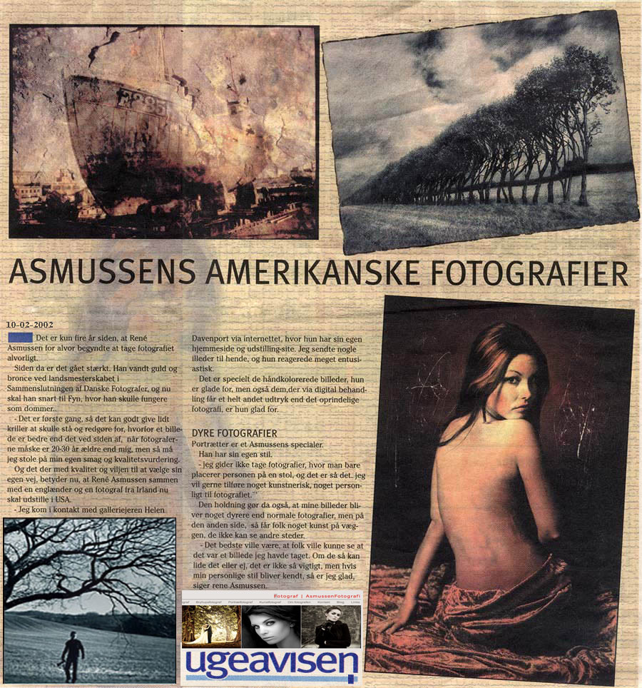udstilling i usa ved fotograf rene asmussen